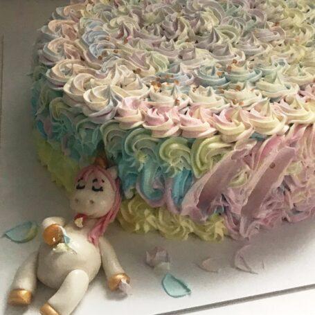 Babyshower taart Eenhoorn LIZA