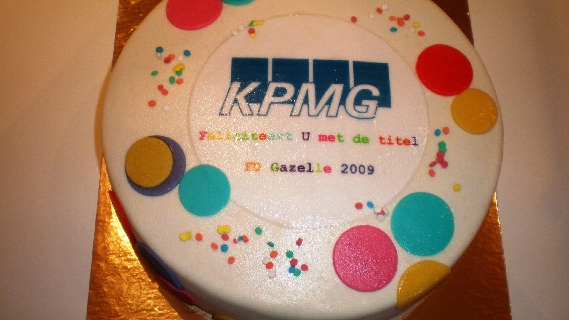 KPMG taart