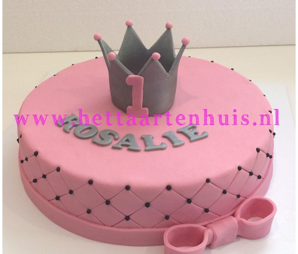3D Kroon taart Rosalie
