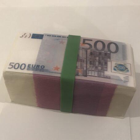 3D geldbundel taart