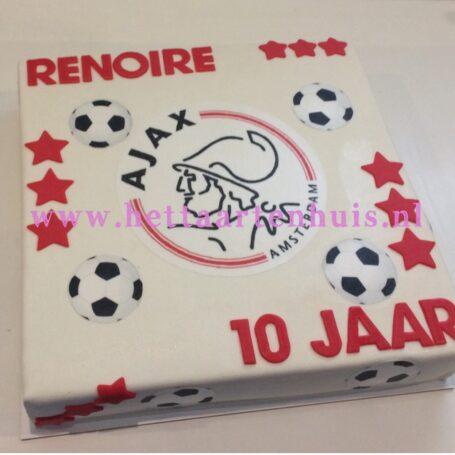 Ajax logo taart RENOIRE