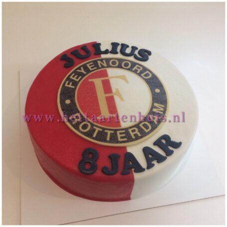 Feyenoord logo taart JULIUS