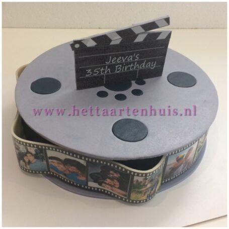 Filmrol taart