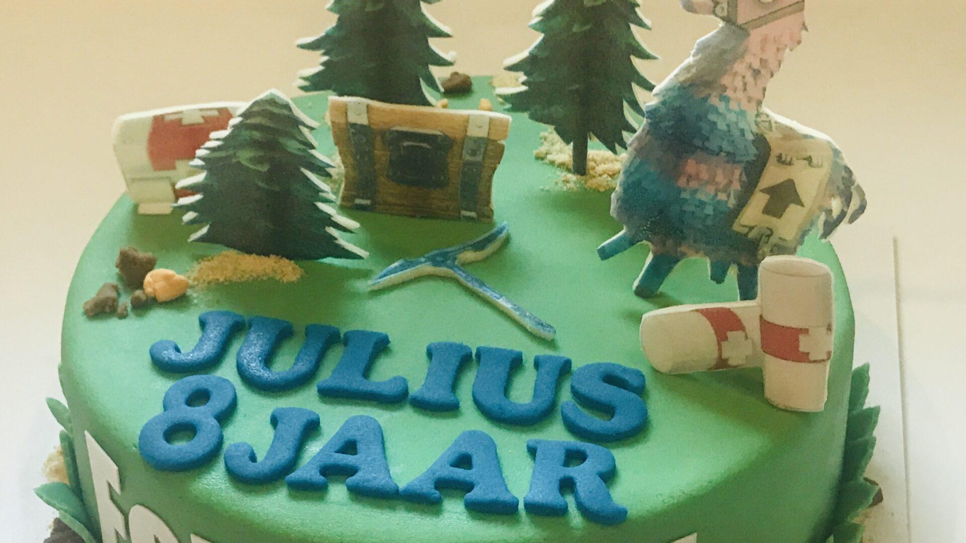 Fortnite taart JULIUS 1