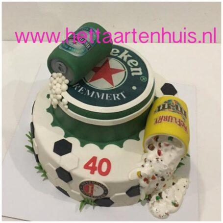 Heineken Feyenoord McFlurry lagentaart