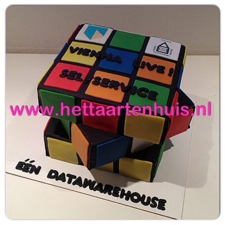 Data warehouse taart
