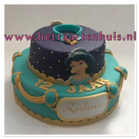 Jasmine en Aladdin lagentaart ROSHNIE