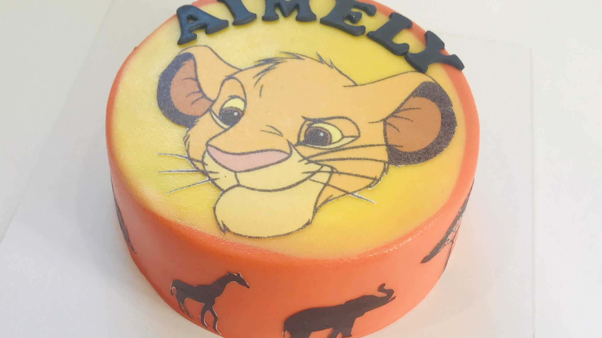 Lion King Simba taart AIMELY 1