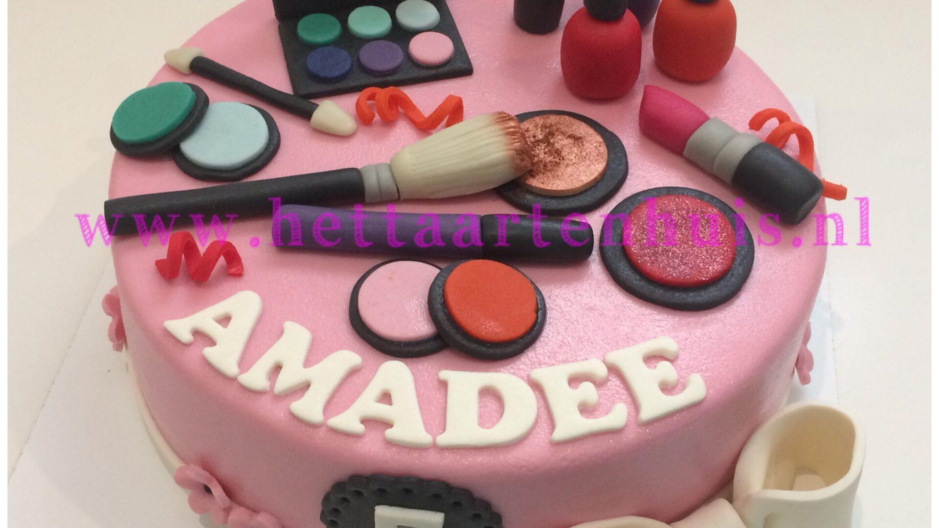 Make-up taart AMADEE