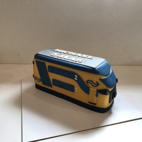 NS trein 3D taart