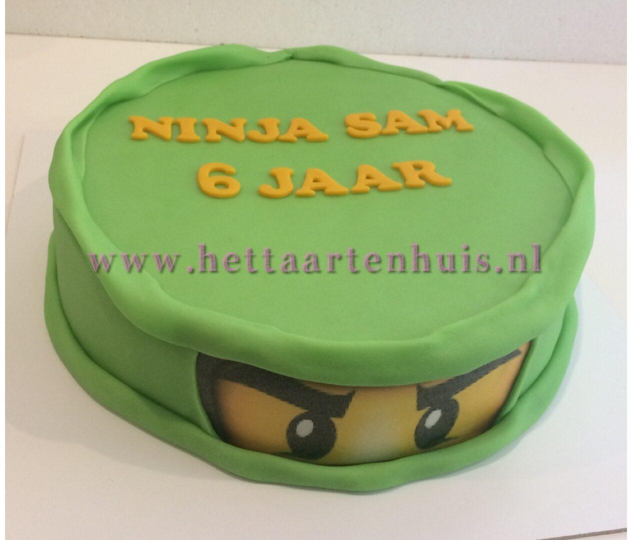 Ninjago taart SAM