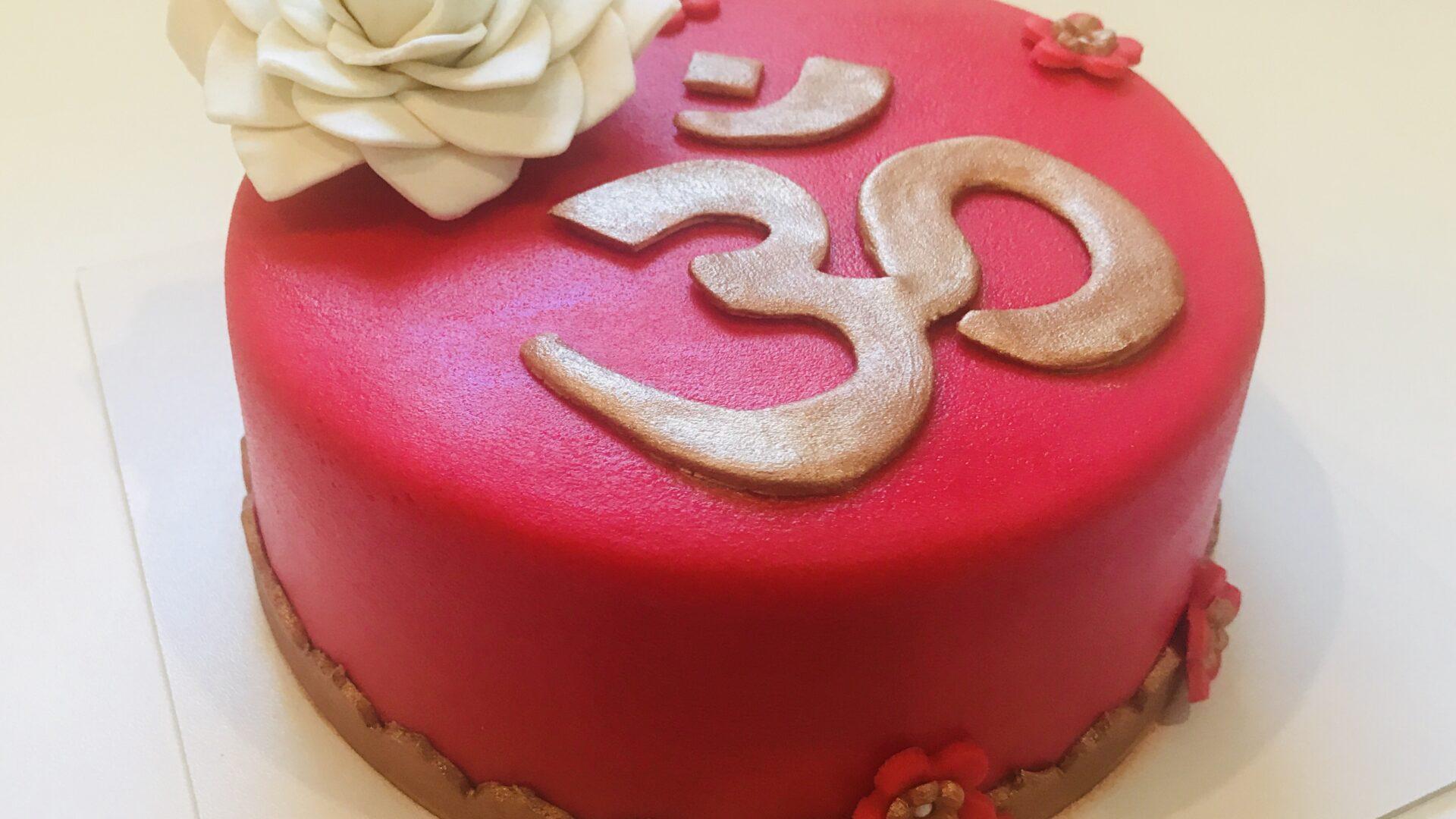 Ohm Lotus taart