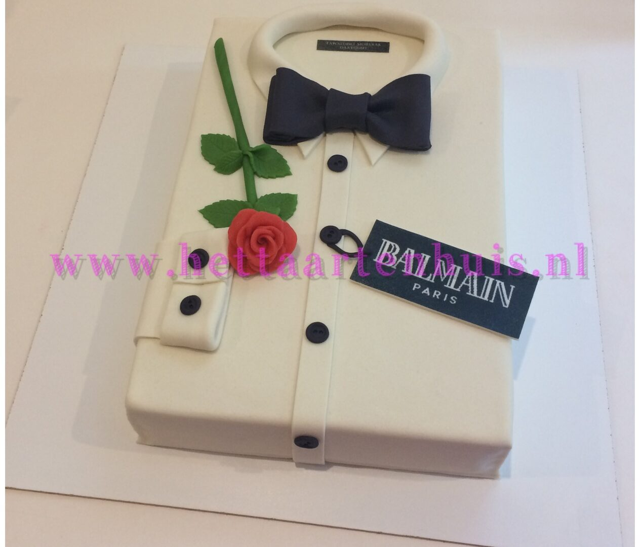 Balmain overhemd taart