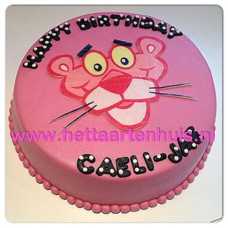 Pink Panther taart