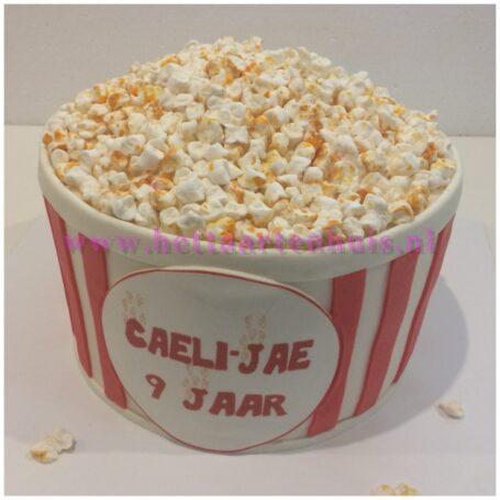 Popcorn Bucket taart