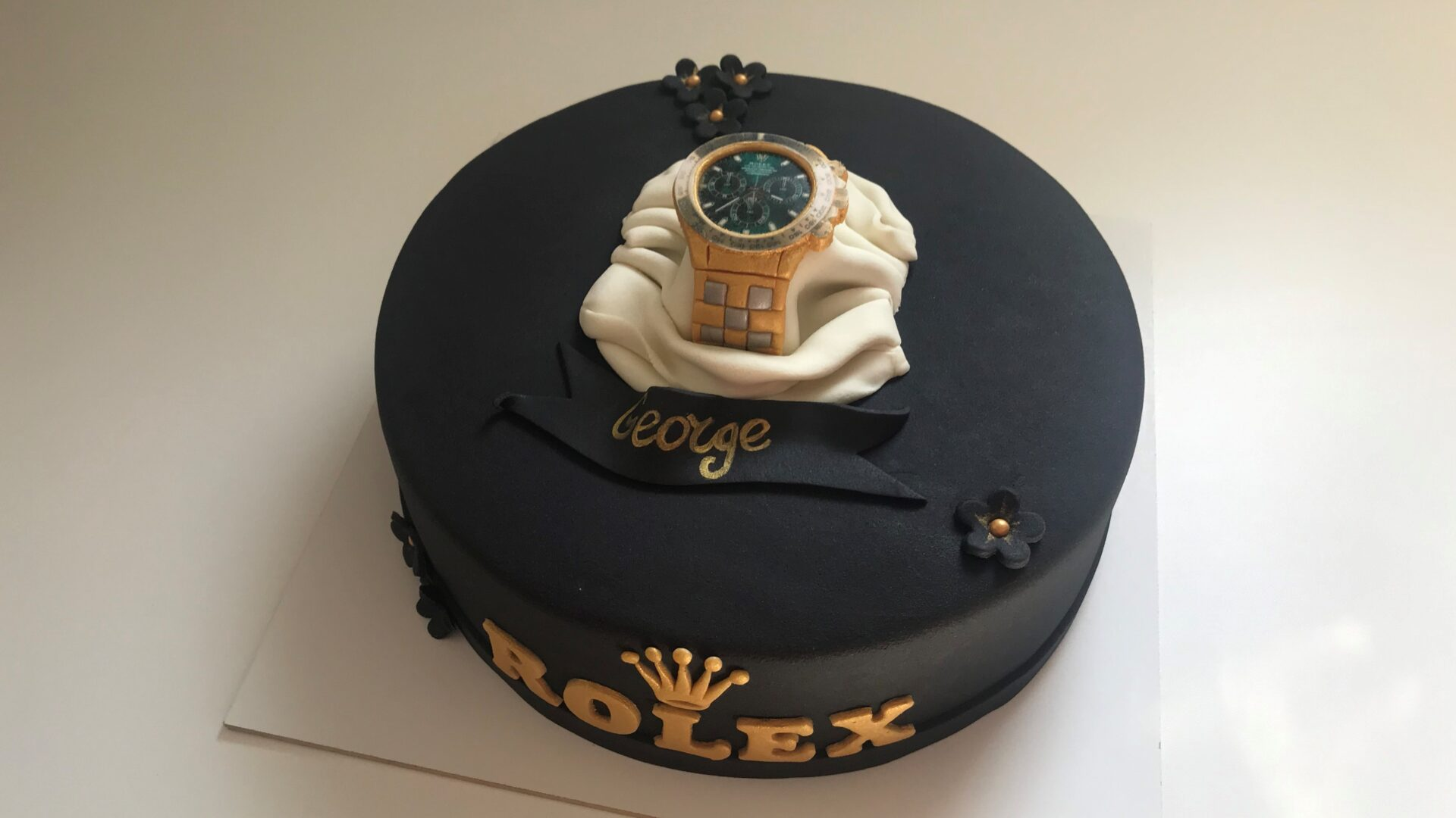 Rolex taart