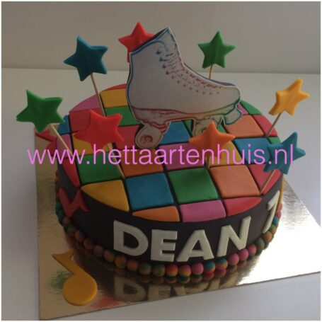 Skate taart Dean