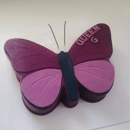 Vlinder taart QUEEN G