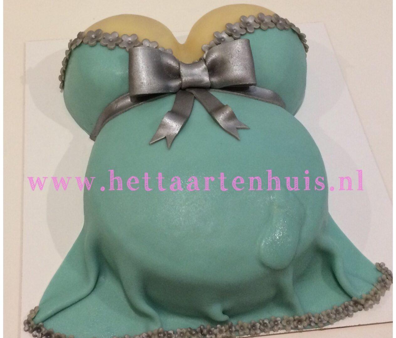 Zwangerschapsbuik SHIRLEY taart