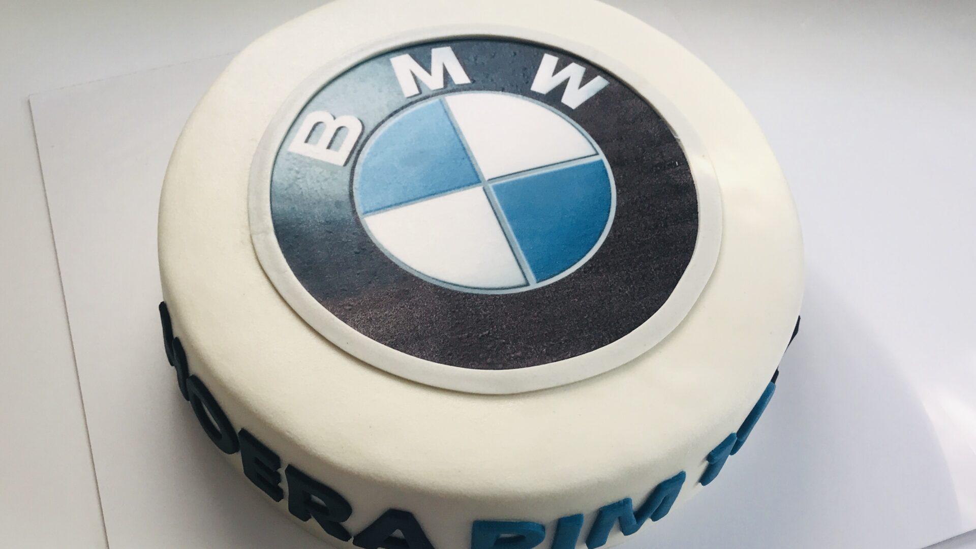 BMW logo taart