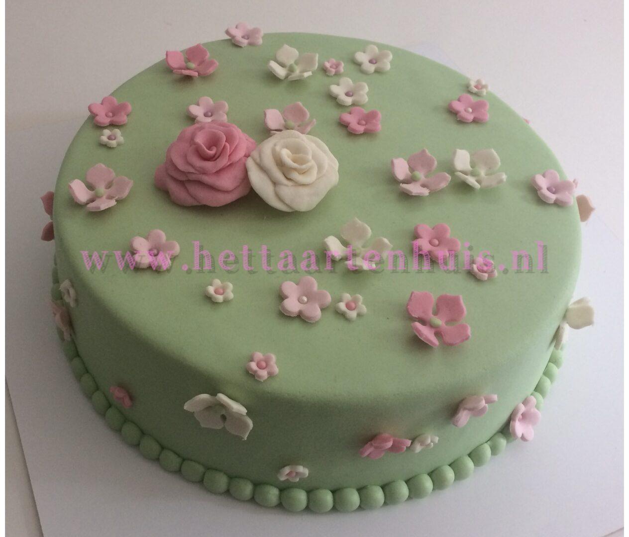 Bloemen taart RAJNI