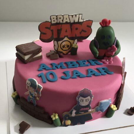 Brawl Stars taart AMBER