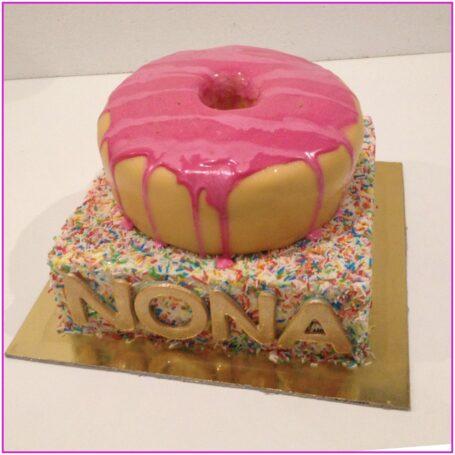Donut lagentaart NONA