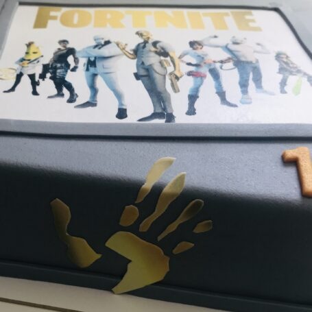 Fortnite taart Midas touch
