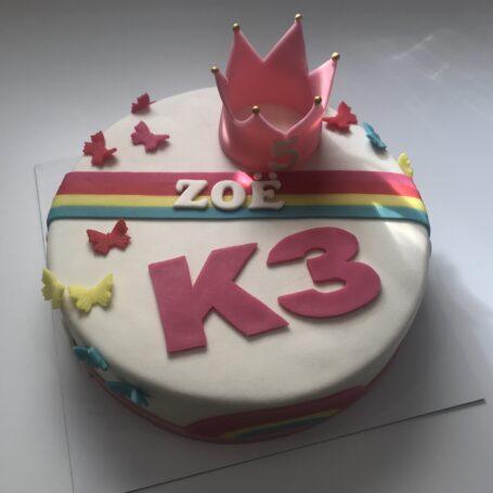 K3 taart ZOE