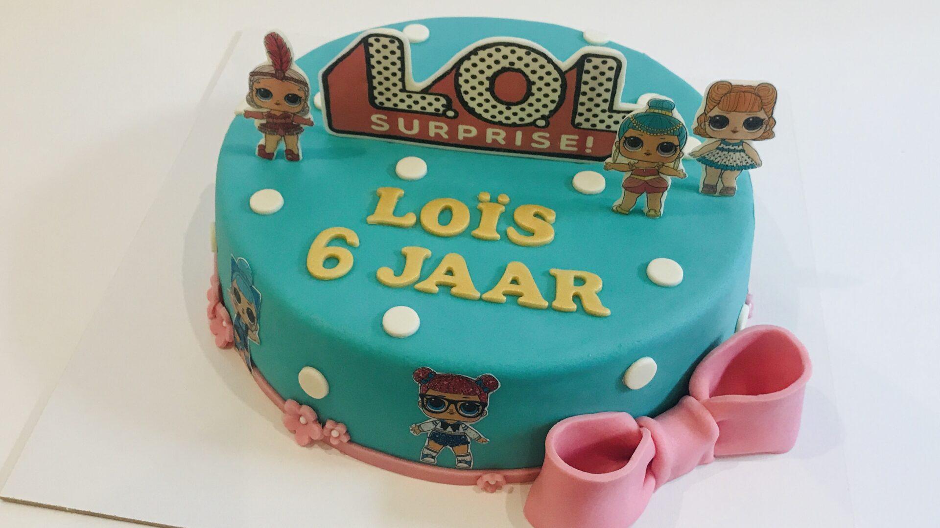 LOL Surprise taart LOIS