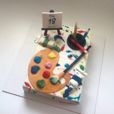 Schilder taart