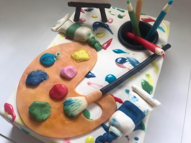 Schilder taart 3