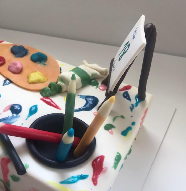 Schilder taart 4