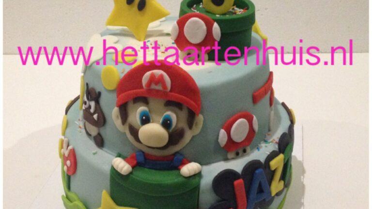 Super Mario taart JAZZ