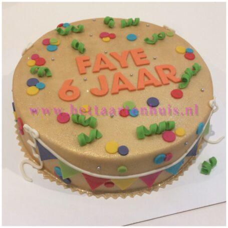 Verjaardagstaart FAYE