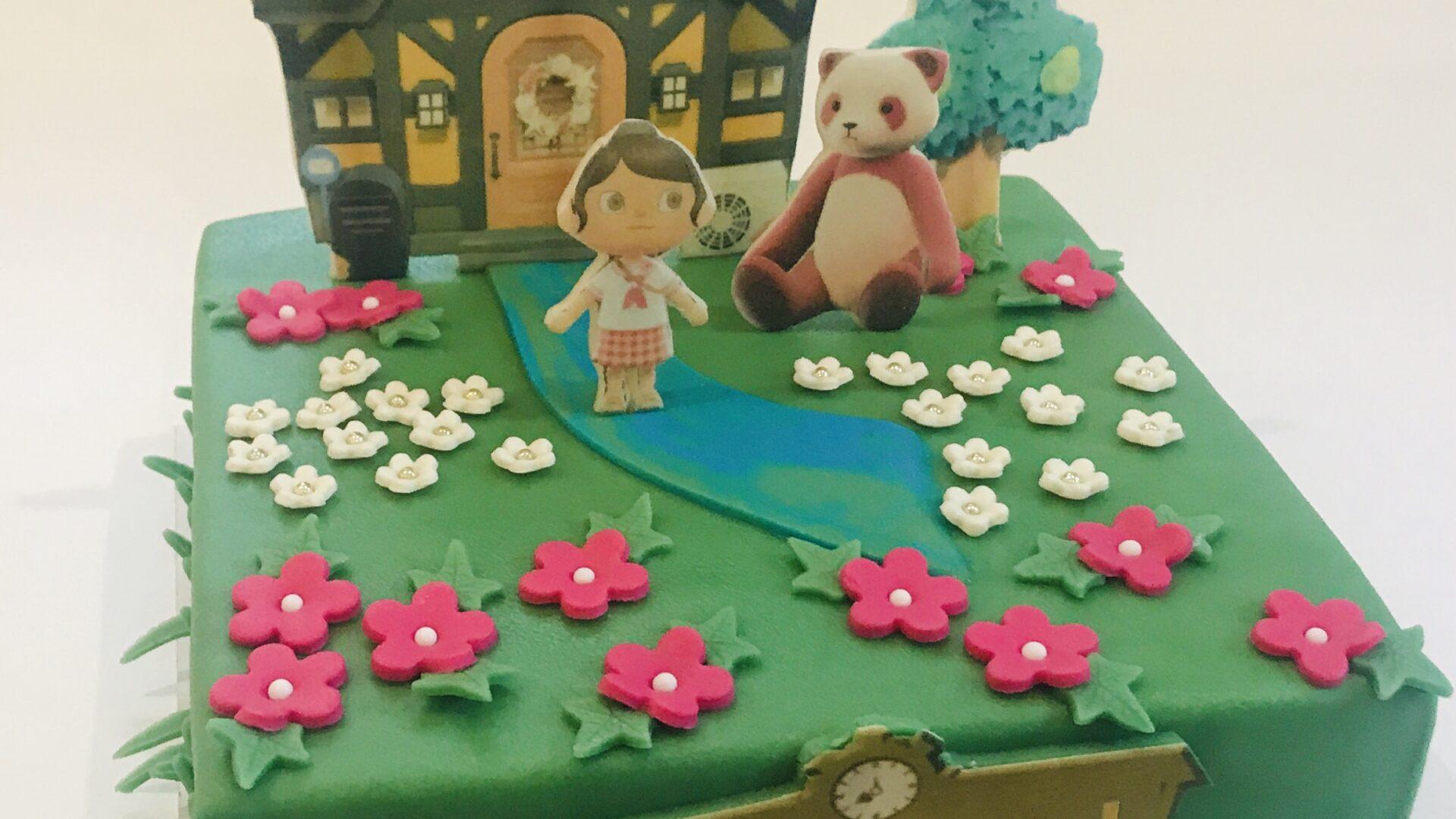 Animal Crossing taart