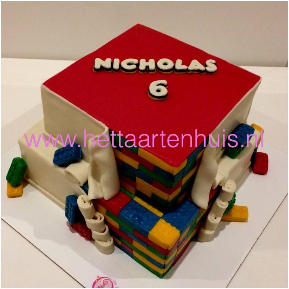 Lego taart Nicholas