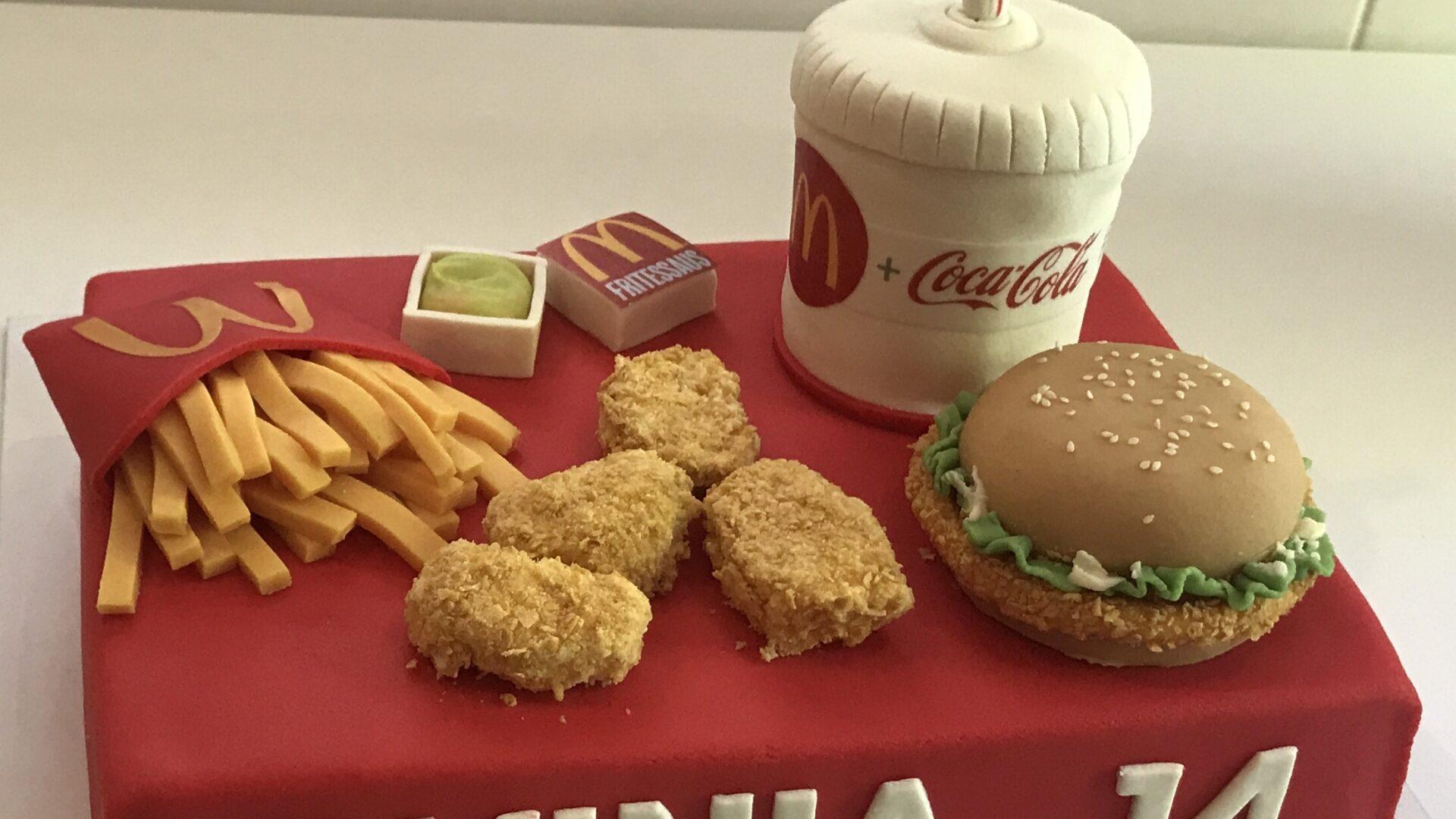 McDonalds taart LAVINIA