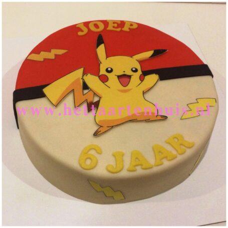 Pikachu taart JOEP