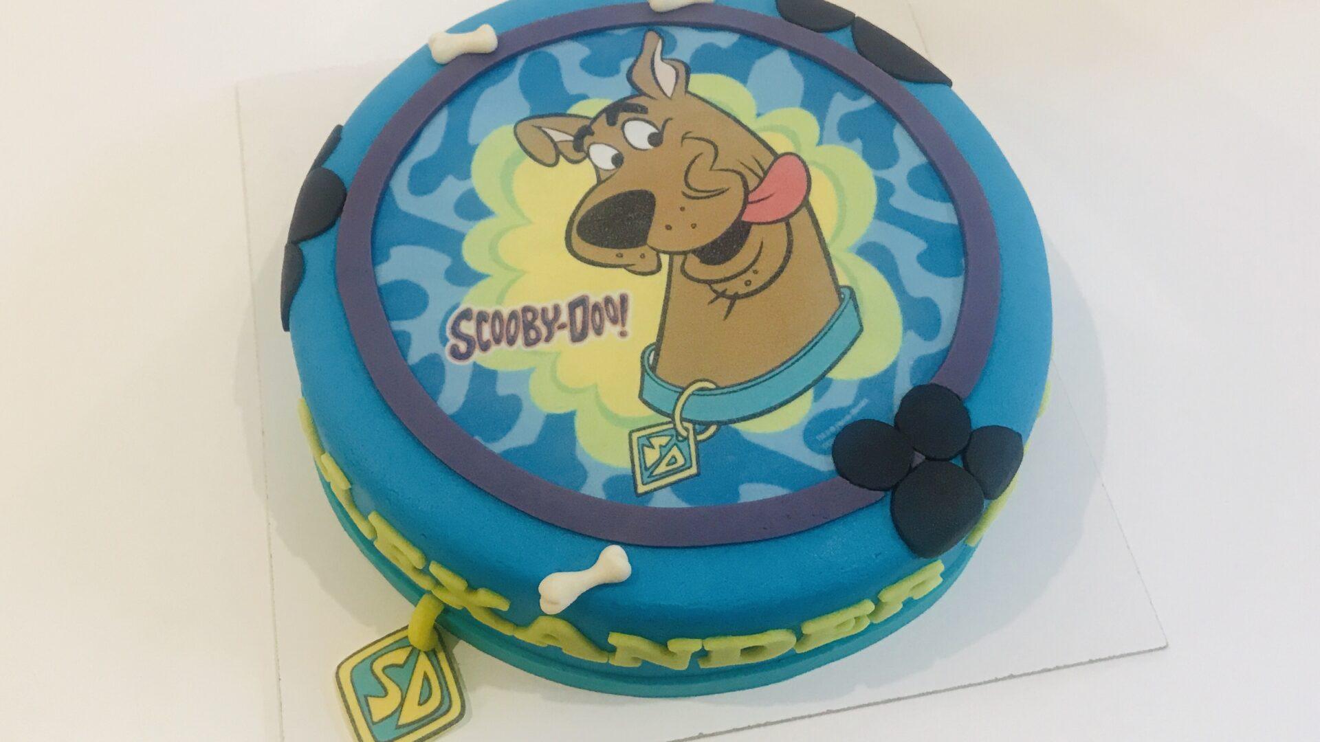 Scooby-Doo taart