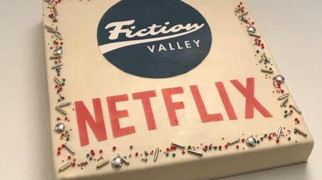 Fiction Valley Netflix taart