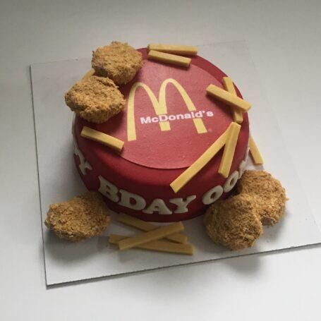 McDonalds taart HUGO