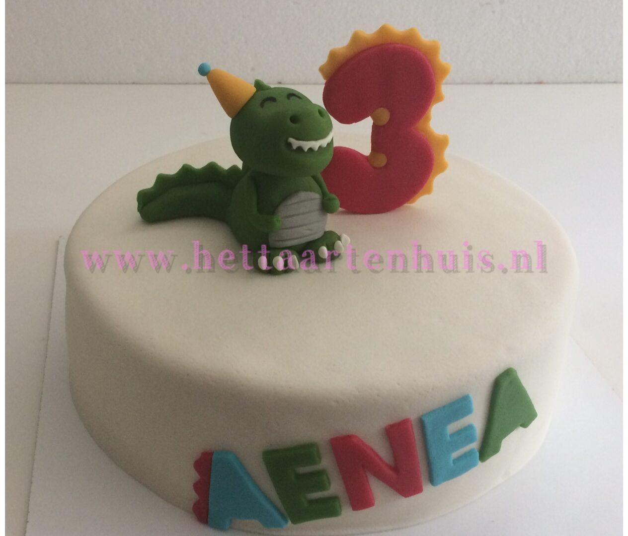 Dinosaurus taart AENEA