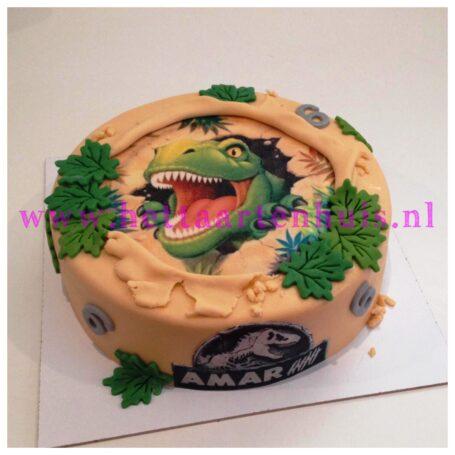Dinosaurus taart AMAR