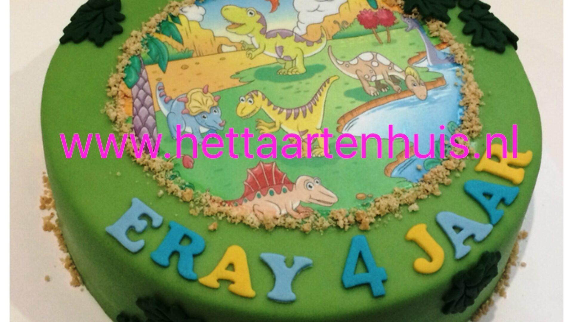 Dinosaurus taart ERAY
