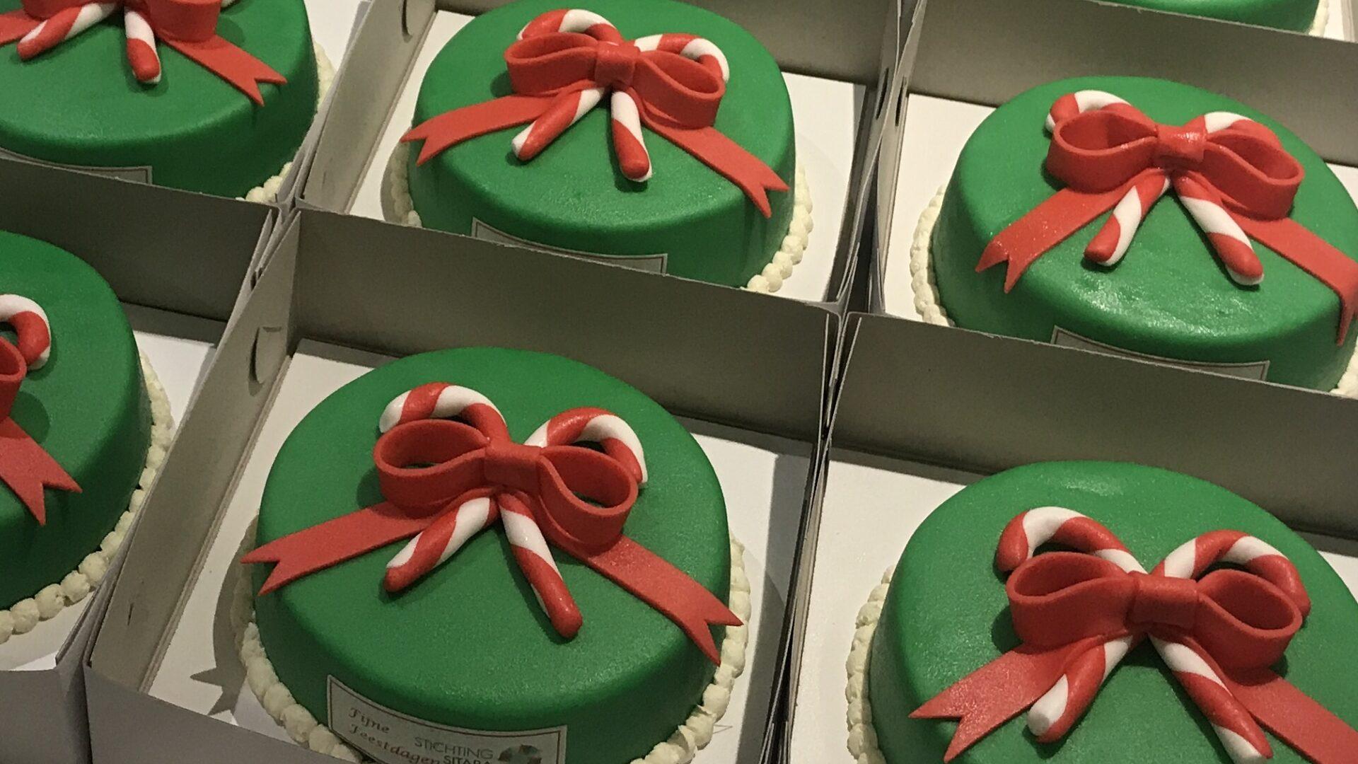 Kerst taarten Stichting Sitara