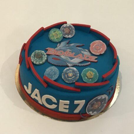 Beyblade taart JACE