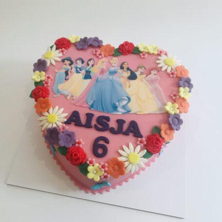 Disney Prinsessen taart AÏSJA