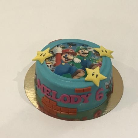 Super Mario taart MELODY