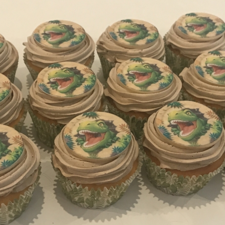 Cupcakes Dinosaurus